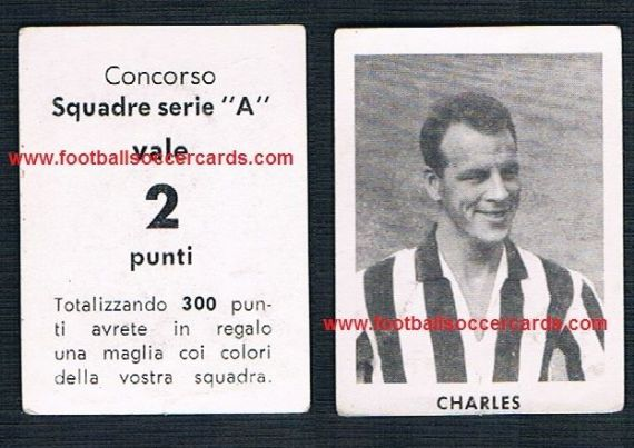 1950s Italian 'concorso' unknown lottery series sticker Juventus